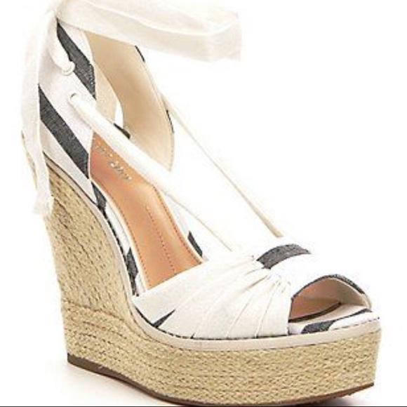 c39675eaff Gianni Bini Shoes | Raedy Peep Toe Wedge Heel | Poshmark